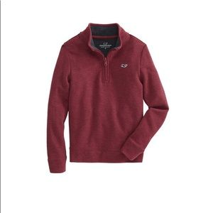 Vineyard Vines Boys Pique 1/4 Zip